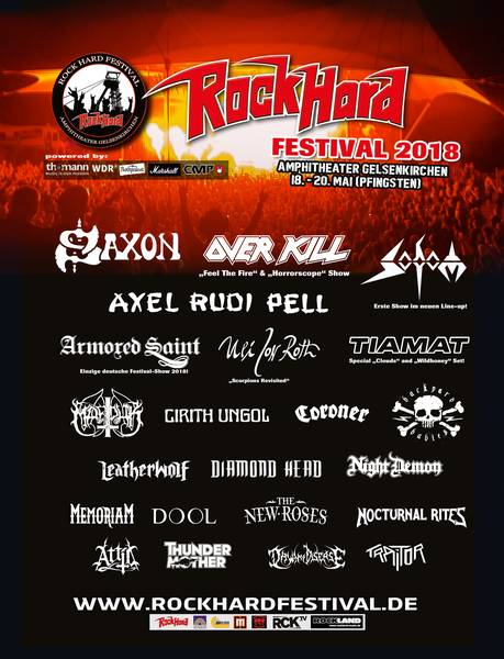 ROCK HARD FESTIVAL 2018 - Pfingsten in Gelsenkirchen